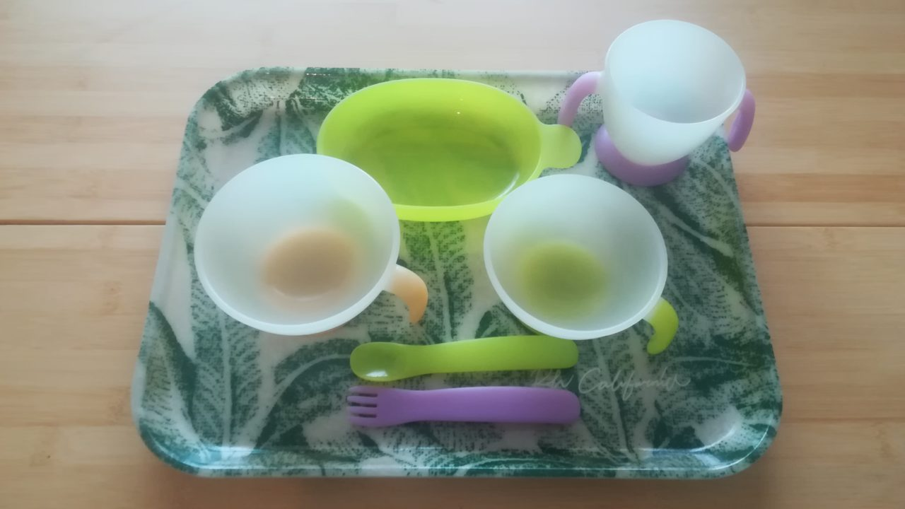 離乳食の食器